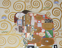 WEDDING GIFT - G. Klimt 'The embrace'