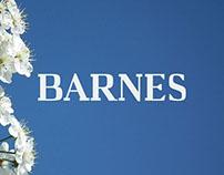 Free Barnes Serif Font