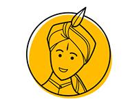 Indian Wedding Icons and Illustration