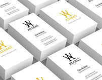 FREE Business Card Mockup (PSD) in serial composition