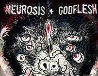 Neurosis + Godflesh live in London - December 2012