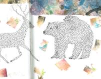 // Bears & Deer //