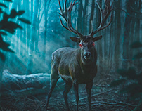 Mystical deer
