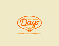 Coffee stall / Diner branding