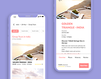 Travel App (Free UI kit inside)