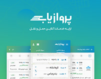 Parvazyab | User Interface Design
