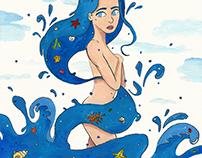 Fille des océans