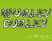 Wurley Curley Typeface Design