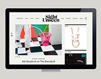 Sight Unseen Website Redesign