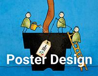 Poster Design - Gunoiul Si Ghiocelul