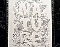 Lettering Nature.