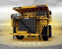 KOMATSU Earth-moving equipment - Brochure