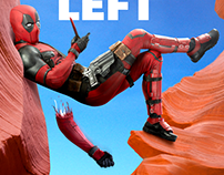 Deadpool Social Media Campaign - 127 Hours