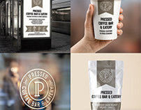 ReBranding: Pressed Coffee Bar & Eatery