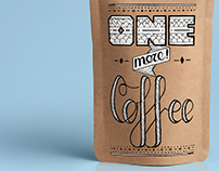 One More Coffee│Package Design
