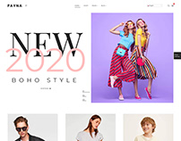 Payna – Clean, Minimal Shopify Theme