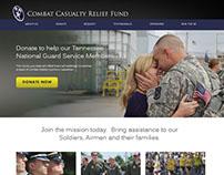 Combat Casualty Relief Fund Website Design