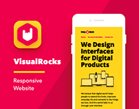 VisualRocks Responsive Website