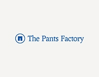 The Pants Factory Visual Identity