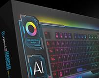 Newskill Gaming HANSHI gaming keyboard package