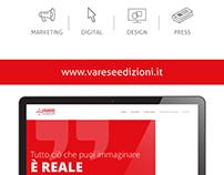 Varese Edizioni - Website