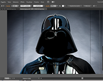 Darth Vader Work in progress