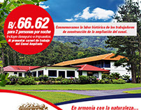 Web Flyer to Hotel Campestre