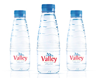 Spring water branding and label