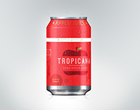 Tropicana Apple Juice label redesign