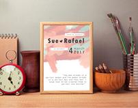 Digital Illustration - Wedding Invitation