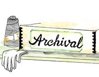 Branding for Archival Clothing