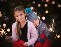 Vánoční focení - Majda