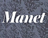 Manet - Exhibition design