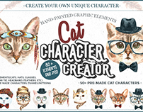 Free Cat Character Creation Kit