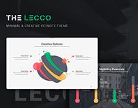 Lecco Creative Keynote Template
