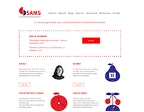 Redesign of the SAMS rf. webpage