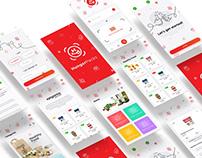 Hunger Pack - UI/UX - Branding