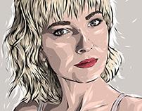 Adobe DRAW : Unknown portrait series - Jane