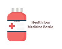 bix box studio - medicine bottle icon health