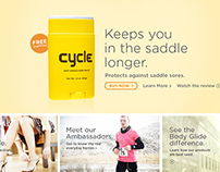 Body Glide E-Commerce Website Design