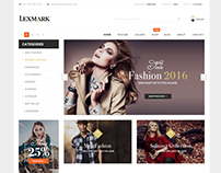 Lexmark - ecommerce PSD template