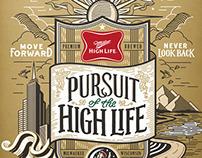 Miller High Life Poster