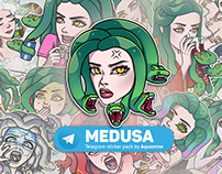 Medusa stickerpack