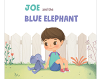 Joe and the Blue elephant - children's book