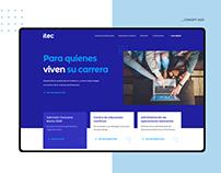 ITEC - Website redesign