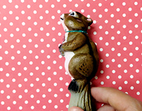 Just Squirrel Pen