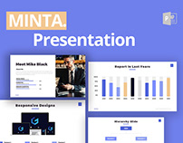 Minta Business Free Powerpoint Template