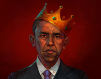 Thank You Obama Illustration