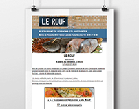 Create Le-Rouf Newsletter