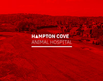 Hampton Cove Animal Hospital Identity Design